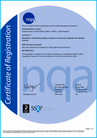 ISO 45001 Accreditation