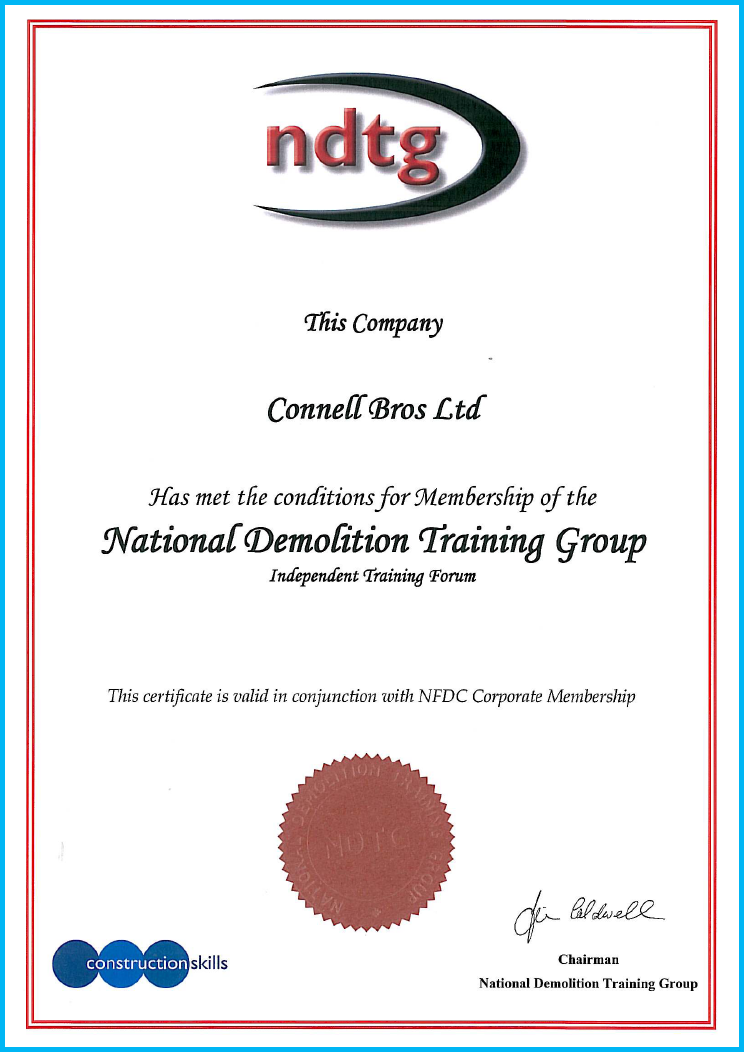 National Demolition Training Group Membership