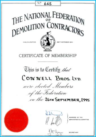 National Federation of Demolition Contractors Membership